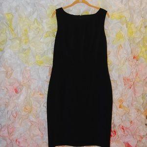 Talbots sleeveless sheath dress